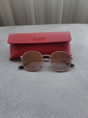 Guess Occhiale da sole rotondo color oro rosa