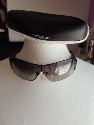 Vogue Gafas de sol ovaladas negro-color plata