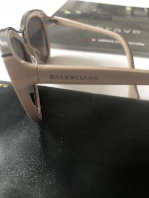 Balenciaga Glasses dusky pink mixture fibre