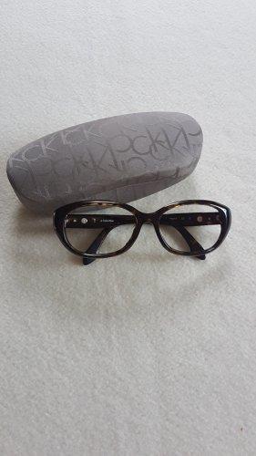 Calvin Klein Occhiale marrone scuro