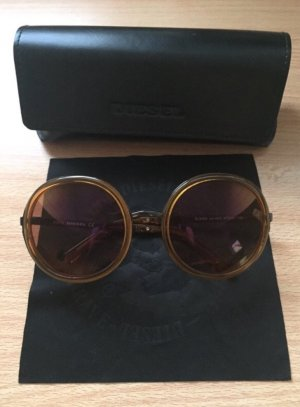 Diesel Aviator Glasses multicolored