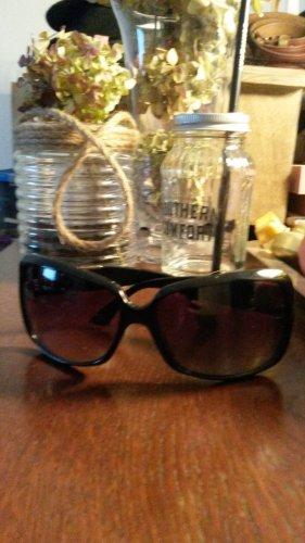 Emporio Armani Gafas de sol negro-color plata