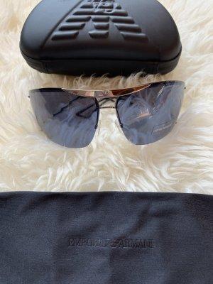 Emporio Armani Gafas de sol cuadradas color plata