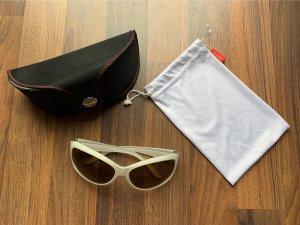 Esprit Gafas mariposa blanco