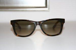 Fendi Hoekige zonnebril bruin-donkergeel kunststof