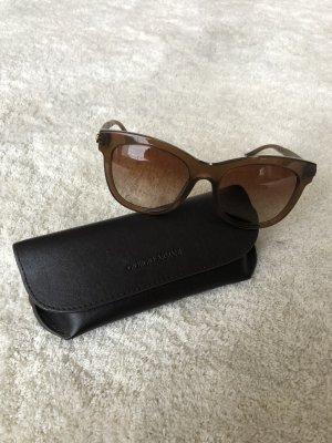 Giorgio  Armani Angular Shaped Sunglasses brown-light brown