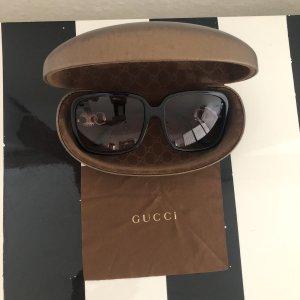 Gucci Okulary retro czarny