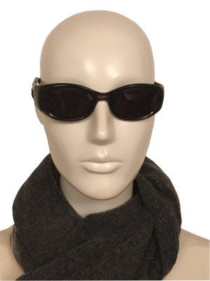 Gucci Ovale zonnebril grijs kunststof