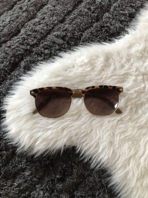 H&M Glasses brown-light brown