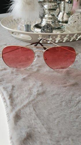 H&M Aviator Glasses pink-light pink