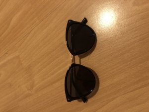 Mango Gafas mariposa negro-color oro