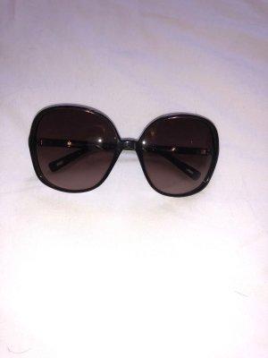Max Mara Gafas de sol redondas marrón-negro-marrón oscuro acetato