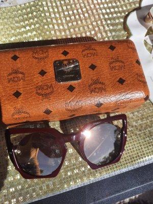 MCM Gafas de sol cuadradas violeta amarronado
