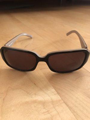 Mexx Angular Shaped Sunglasses dark brown-beige