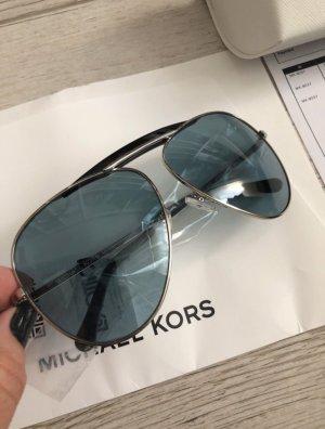Michael Kors Oval Sunglasses blue