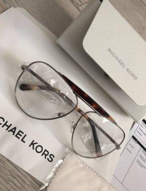 Michael Kors Oval Sunglasses white