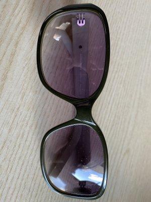 More & More Gafas de sol ovaladas caqui