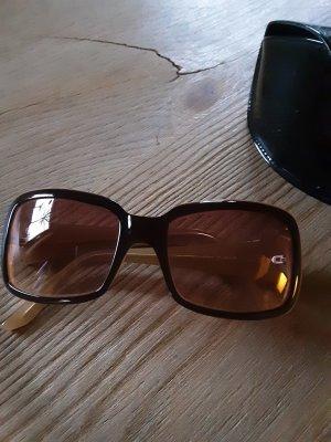 More & More Angular Shaped Sunglasses light brown-beige