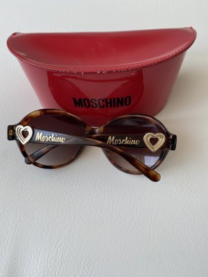 Moschino Bril donkerbruin