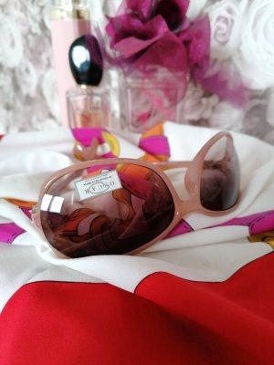 Oscar de la renta Oval Sunglasses nude