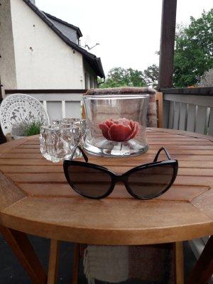 Prada Gafas de sol cuadradas negro-color plata