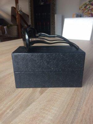 Prada Gafas negro-color plata