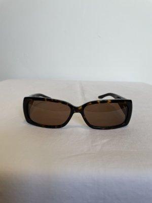 Ralph Lauren Angular Shaped Sunglasses dark brown polyacrylic