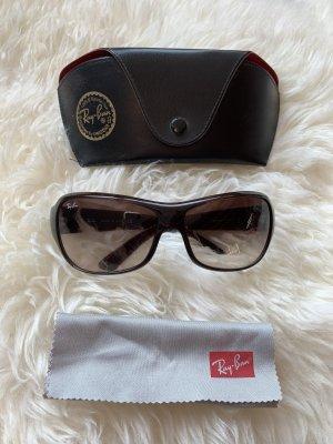 Ray Ban Gafas de sol cuadradas marrón oscuro