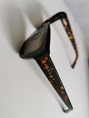 Sisley Occhiale da sole ovale marrone