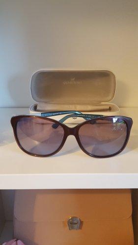 Swarovski Gafas de sol cuadradas burdeos-azul aciano