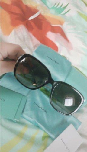 Tiffany&Co Gafas de sol cuadradas azul bebé-negro