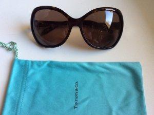 Tiffany&Co Gafas Retro marrón oscuro
