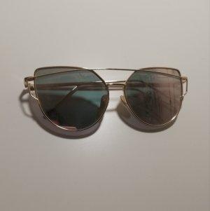 Owalne okulary przeciwsłoneczne Wielokolorowy