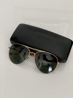 Calvin Klein Okulary pilotki czarny-brąz