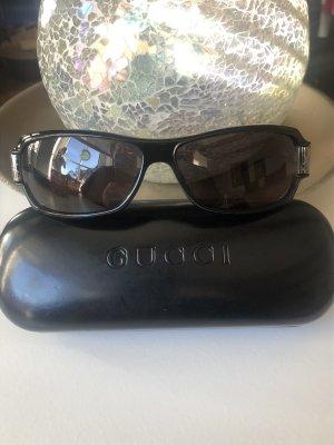 Gucci Lunettes noir-argenté