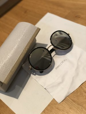 Jimmy Choo Gafas de sol redondas negro