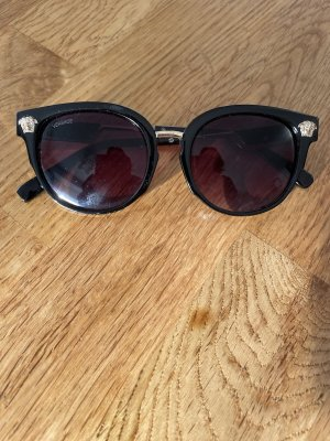 Versace Glasses black-gold-colored