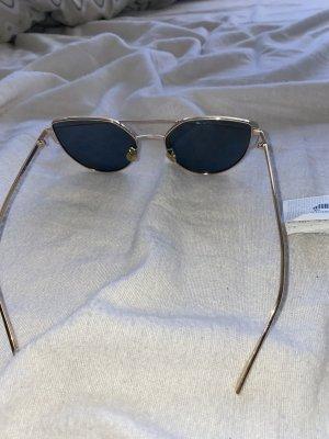H&M Gafas color bronce-color rosa dorado