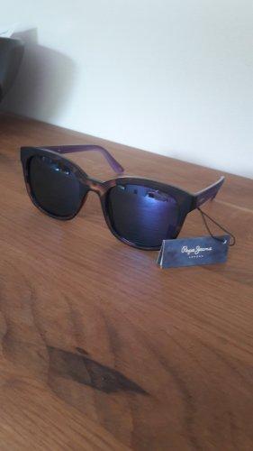 Pepe Jeans Angular Shaped Sunglasses bronze-colored-mauve