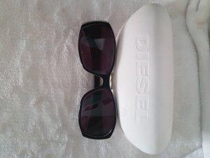 Diesel Zonnebril wit-zwart
