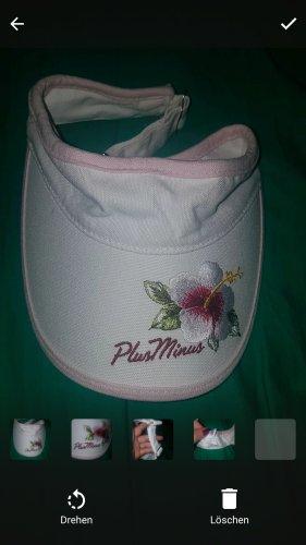 Plusminus Cap white