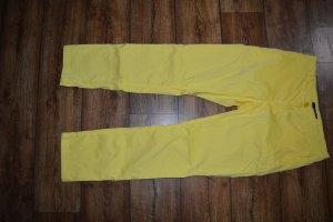 Sonnengelbe leichte Röhren-Jeans strechig von Gant