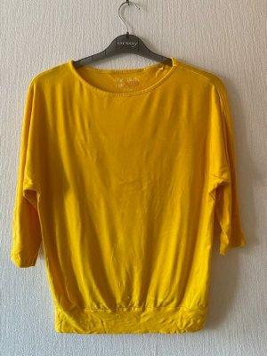 Sonnengelber Halbarm - Shirt