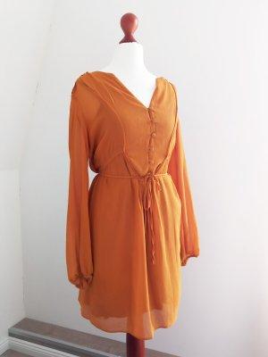 Reserved Chiffon Dress multicolored mixture fibre
