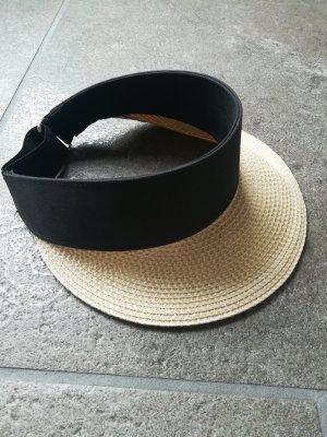 H&M Cappello parasole nero-crema