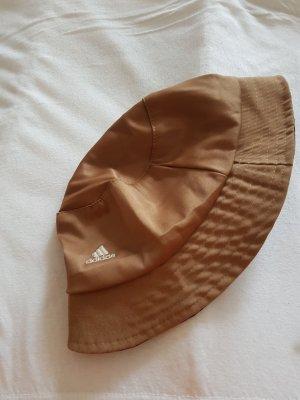 Adidas Chapeau de soleil bronze-noir fibre synthétique
