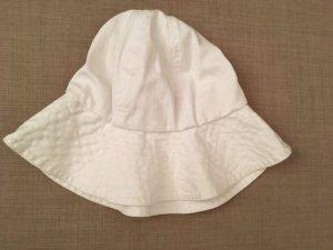 Closed Sombrero de ala ancha blanco Algodón