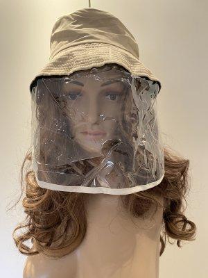 Cappello parasole beige chiaro-crema