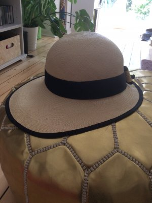 Panama hoed room-zwart