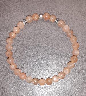 Collier de perles crème-beige